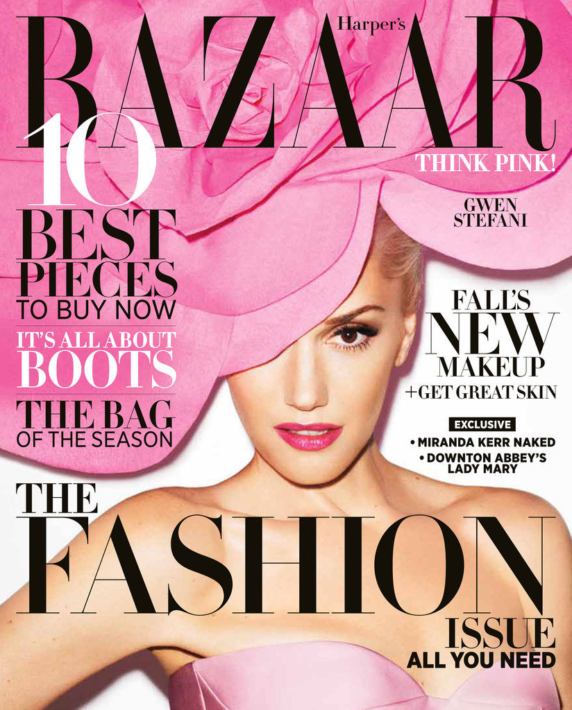 Harper's Bazaar September 2012