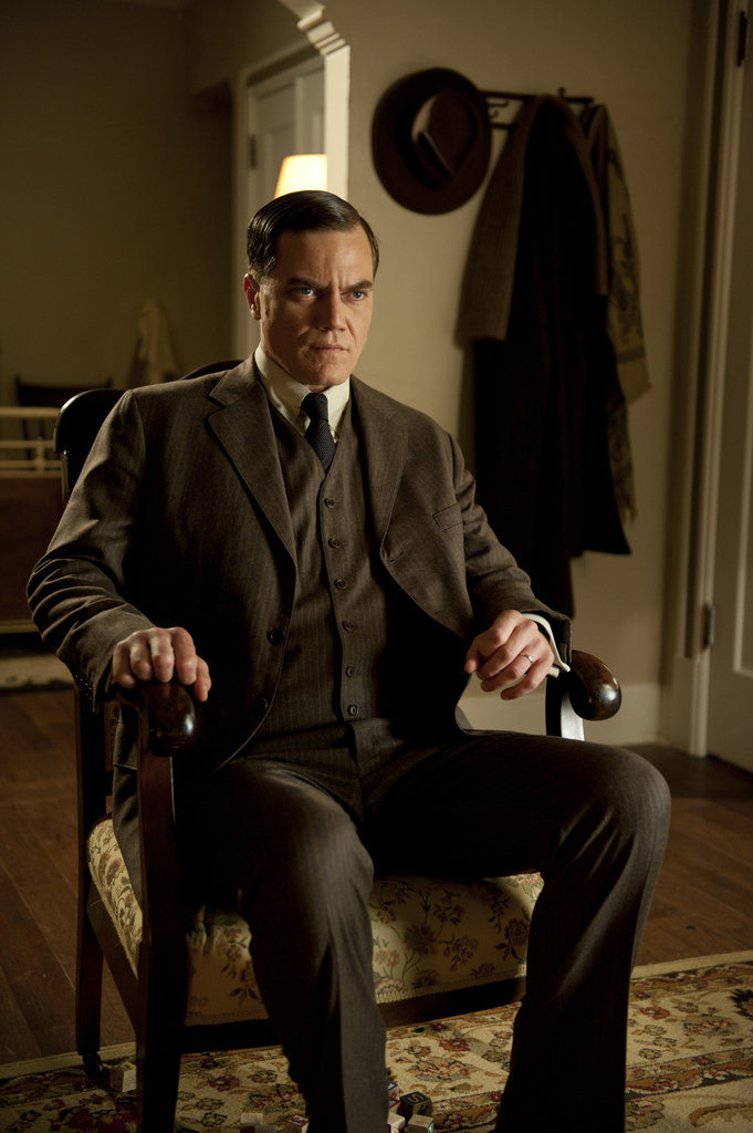 Michael Shannon is also back as the troubled Agent Van Alden.