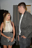 Ashley Tisdale and boyfriend Scott Speer chatted at InStyle's summer party in LA.