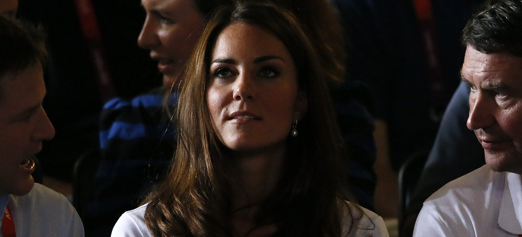 Kate Middleton watched the women's flyweight boxing.