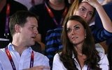 Kate Middleton chatted at the women's flyweight boxing final.