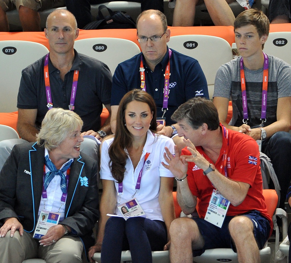 Kate Middleton has been a fixture throughout the events of the Olympic Games.