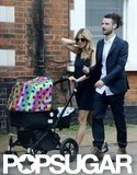 Sienna and Tom Take Out Baby Marlowe Together