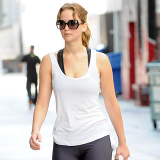 Jennifer Lawrence in Spandex | Pictures