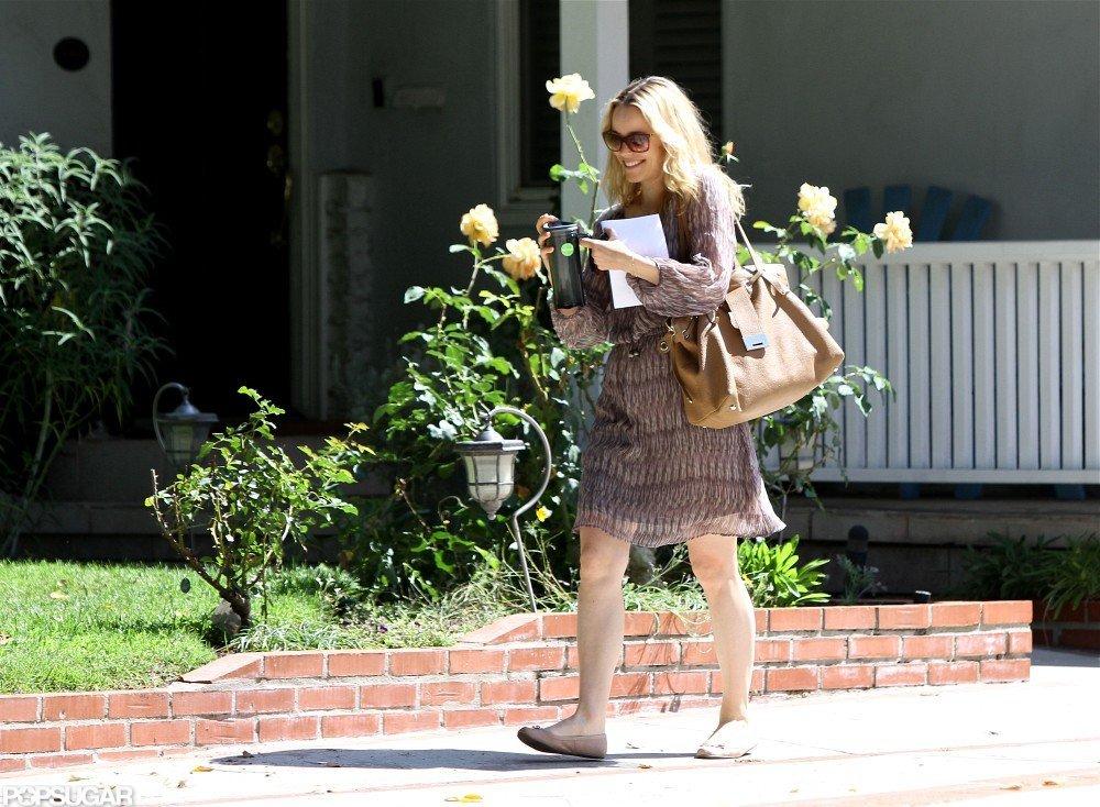 Rachel McAdams ran errands in LA.