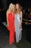Erin Wasson slipped into something sexy, slinky, and in the coolest shade of metallic silver for the InStyle fete.