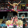 Cheerleaders at the Olympics