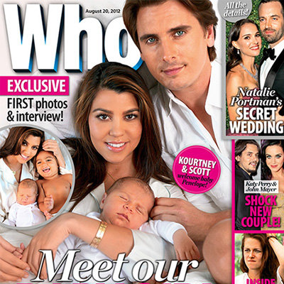 First Picture of Kourtney Kardashian and Scott Disick's Daughter, Penelope Disick