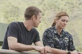 Scott Speedman and Daisy Betts in Last Resort.