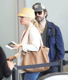 Rachel McAdams Heads Up and Out With Michael Sheen