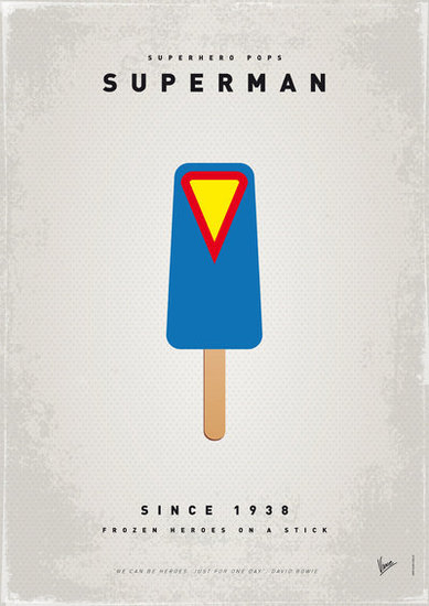 My Superhero Ice Pop: Superman ($18 to $55)