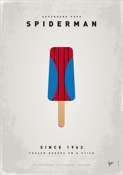 My Superhero Ice Pop: Spiderman ($18 to $55)