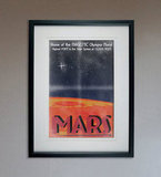 Retro Sci-Fi Mars Travel Poster ($25)