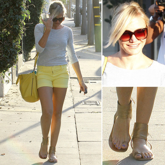 We're smitten with Cameron Diaz's sunny style.