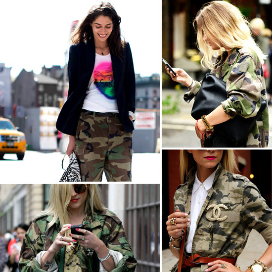 Currently Trending: Camoflage Print! How to Wear it and What to Buy from ASOS, Topshop, Thakoon & More!