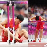 Liu Xiang's Difficult Race