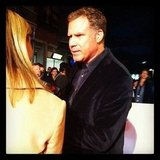 PopSugar was on the red carpert with funnyman Will Ferrell as he promoted his new movie, The Campaign.