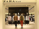 The Zara Man space on the ground floor.