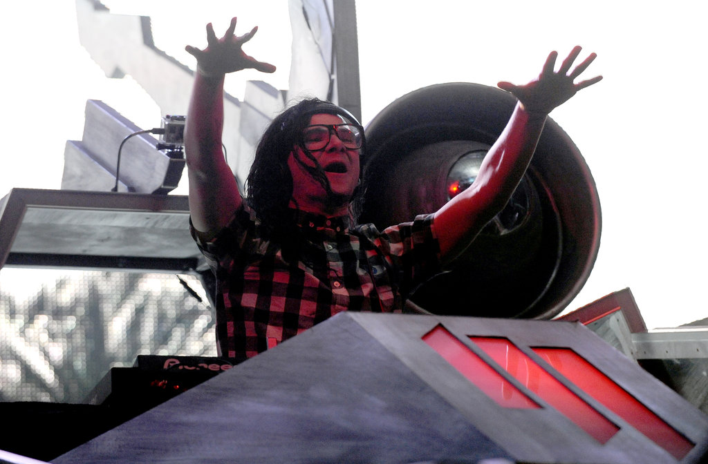 Skrillex performed on the final day.