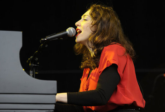 Regina Spektor played a moving set on Sunday.