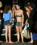 Katy Perry wore her bikini to go to a water park in LA.