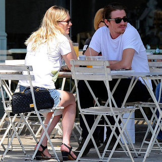 Kirsten Dunst and Garrett Hedlund Brunch in LA | Pictures