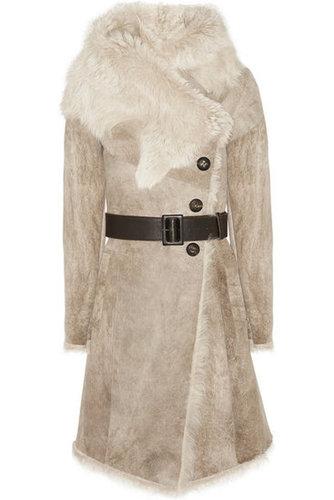 Karl Donoghue|Belted shearling coat|NET-A-PORTER.COM