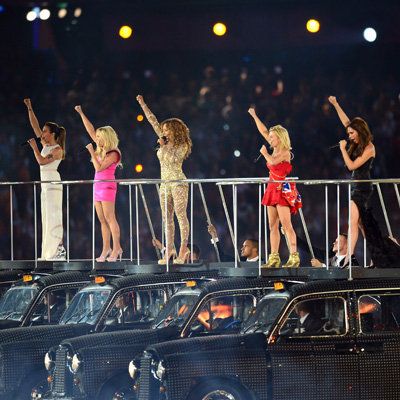 Video: Watch the Spice Girls Reunite and Perform at 2012 London Olympics Closing Ceremony