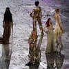 Kate Moss, Naomi Campbell and British Supermodel Pictures at 2012 London Olympics Closing Ceremony