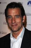 Clive Owen flashed a smile for the cameras at the UK premiere of Shadow Dancer.