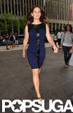 Jennifer Garner Greets Fans and Olympic Gymnasts at Late Show