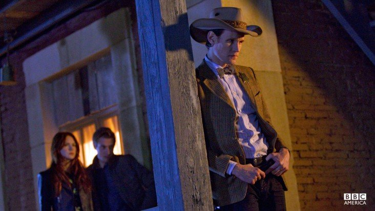 The Doctor takes on the Spaghetti Western.