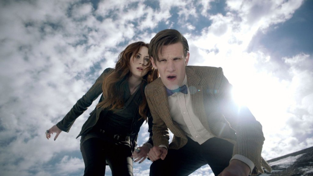 A typical Eleventh Doctor face.