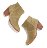 Back-to-school staple: Madewell The Suede Zipcode Boot ($198) Why it shouldn't be overlooked: When you're not rocking your favorite ballet flats or sporty kicks, it's good to have a Fall-ready boot option. There's nothing more classic and crisp than a neutral-toned ankle bootie, which, by the way, really does go with everything.