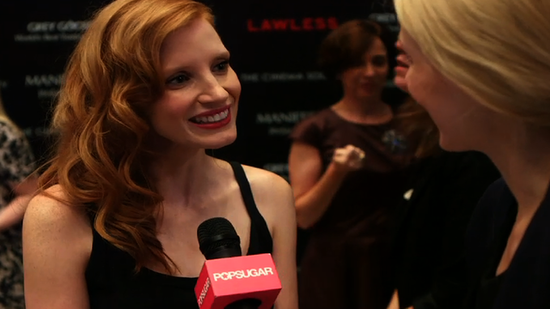 Jessica Chastain Puts a Flamenco Twist on Her Red-Carpet LBD