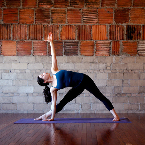 Open Triangle Pose
