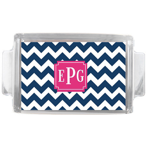 Embrace the trend and opt for this Monogrammed Lucite Tray ($70). We have a feeling this is one fad that is here to stay — for a while, at least.