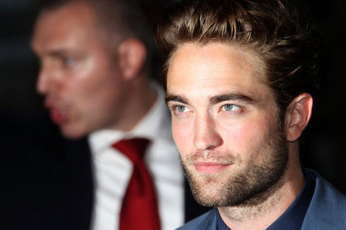 HQ Pics of Robert Pattinson at NYC Cosmopolis Premiere
