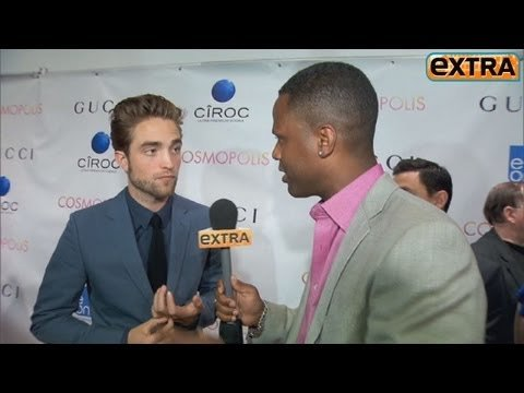 Extra Interview with Robert Pattinson on the Cosmopolis Premiere Red Carpet