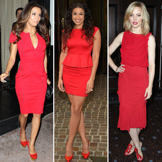 Red Dresses (Celebrity Pictures and Shopping)
