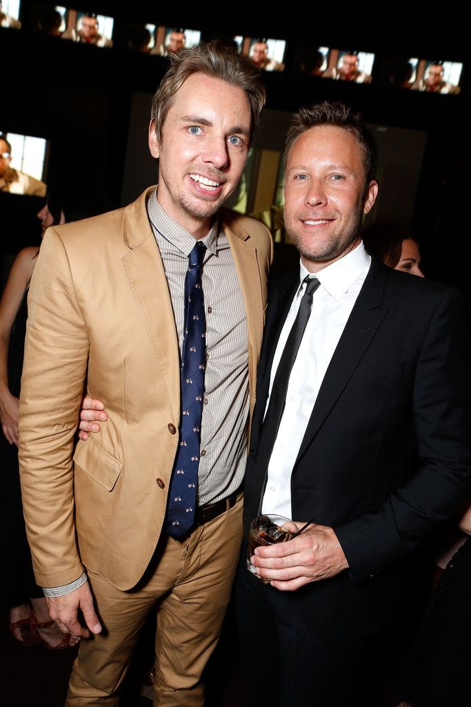 Dax Shepard with Michael Rosenbaum.