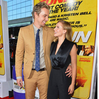 Kristen Bell, Bradley Cooper and Dax Shepard at Hit and Run Premiere