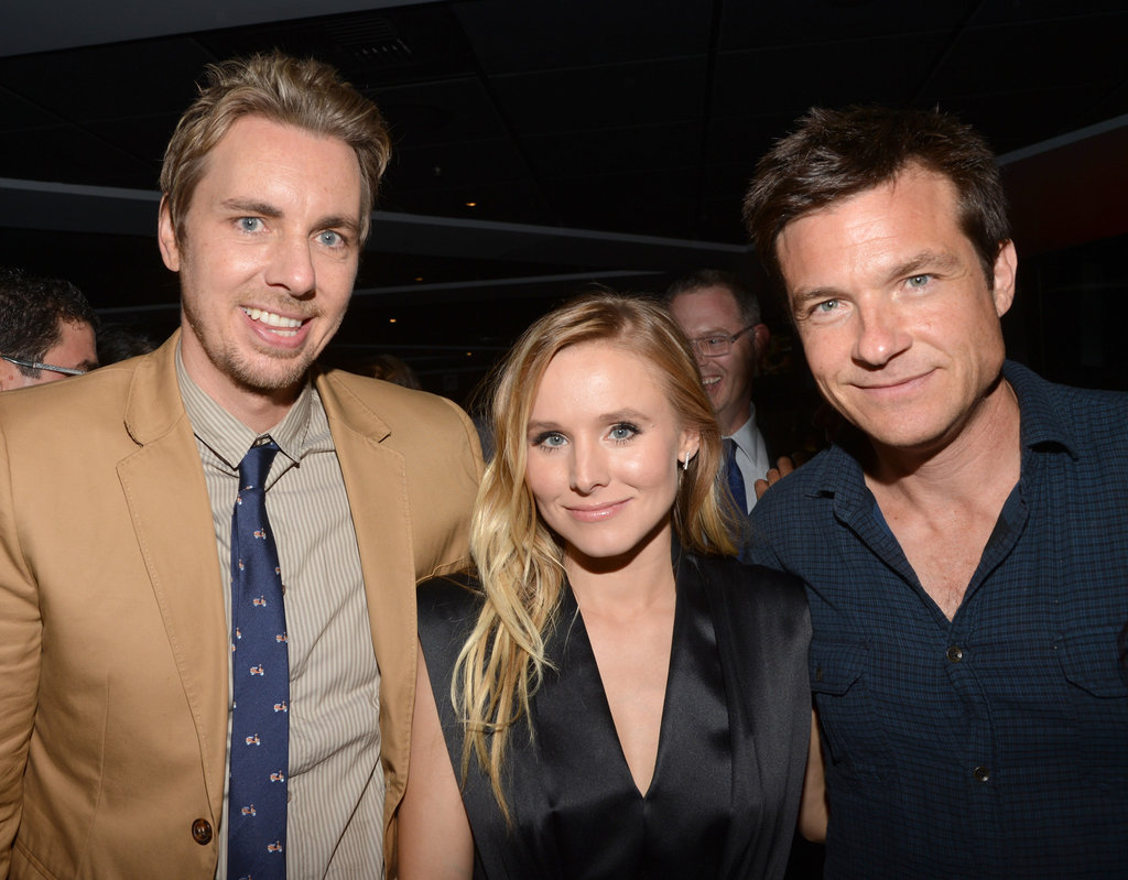 Kristen Bell, Dax Shepard, and Jason Batemen got together before the premiere.