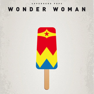 Superhero Popsicle Prints