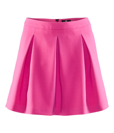Whether you're a cheerleader or not, you'll look great in this flirty jersey skirt. H&M Flared Skirt ($30)