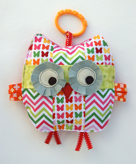 Penelope the Patchwork Owl