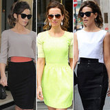 Shop Our Favorite Kate Beckinsale Total Recall London Promotion Looks!