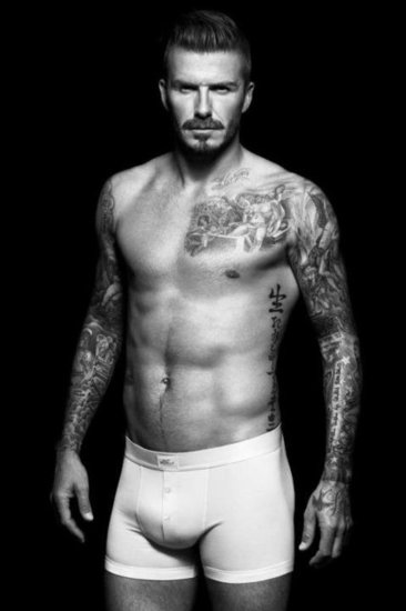 David Beckham Dons Undies For His New H&M Ads