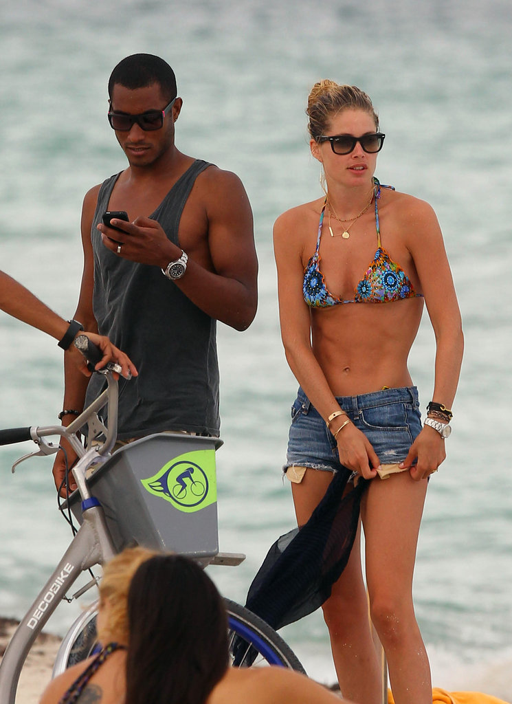 Doutzen Kroes Brings Her Bikini to the Miami Beach