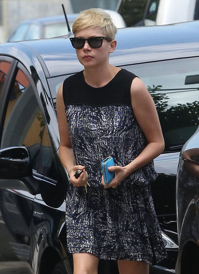 Michelle Williams stepped out in Beverly Hills wearing a sundress and shades.